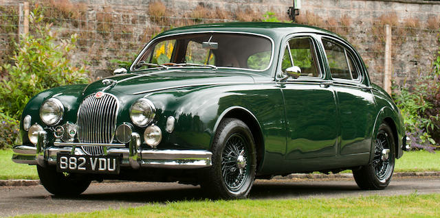 bonhams : 1959 jaguar mk1 3.4-litre sports saloon chassis no