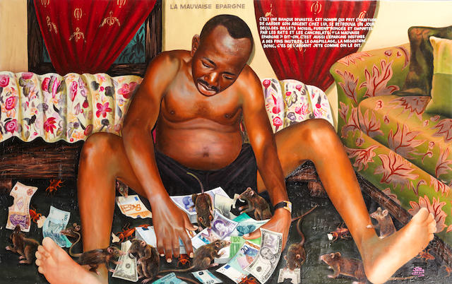 Jean-Paul Nsimba Mika (Democratic Republic of Congo, born 1980) 'La mauvaise épargne' ('The bad savings')