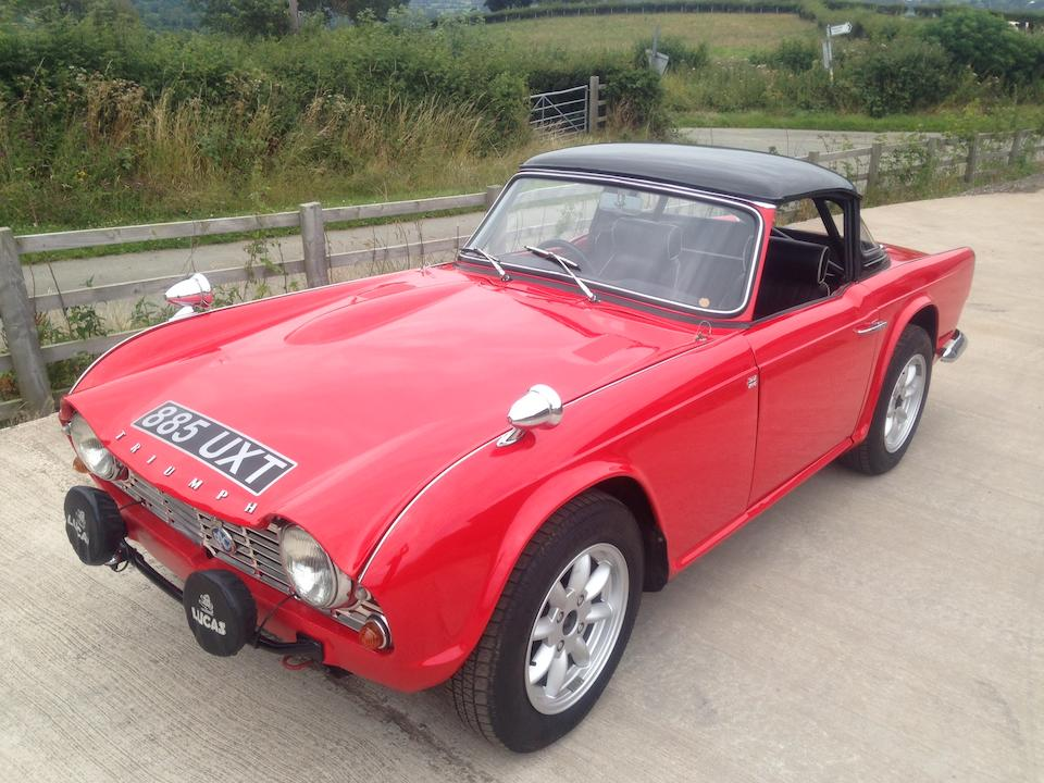 Bonhams 1962 Triumph Tr4 Rally Car Chassis No Ct86530 Engine No