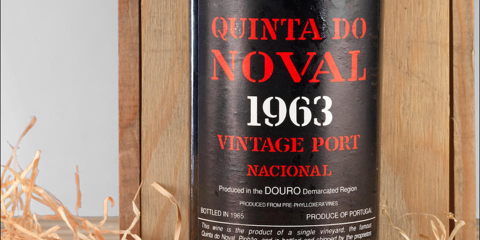 Quinta do Noval Nacional 1963, Recently recorked at the Quinta with new capsule and label (1)