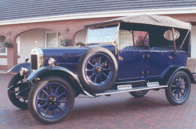1926 Clyno 10.8hp Royal Tourer  Chassis no. 13940 Engine no. 13940