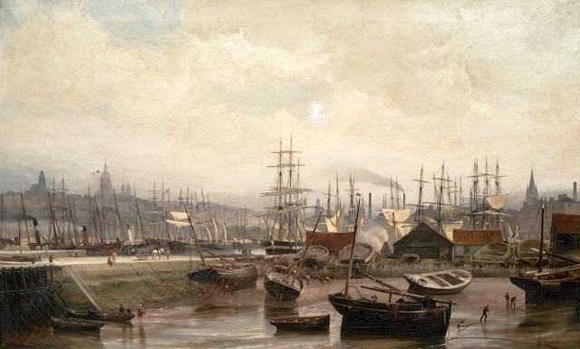 Cornelis Christiaan Dommersen (Dutch, 1842-1928) Bassin, Boulogne sur Mer