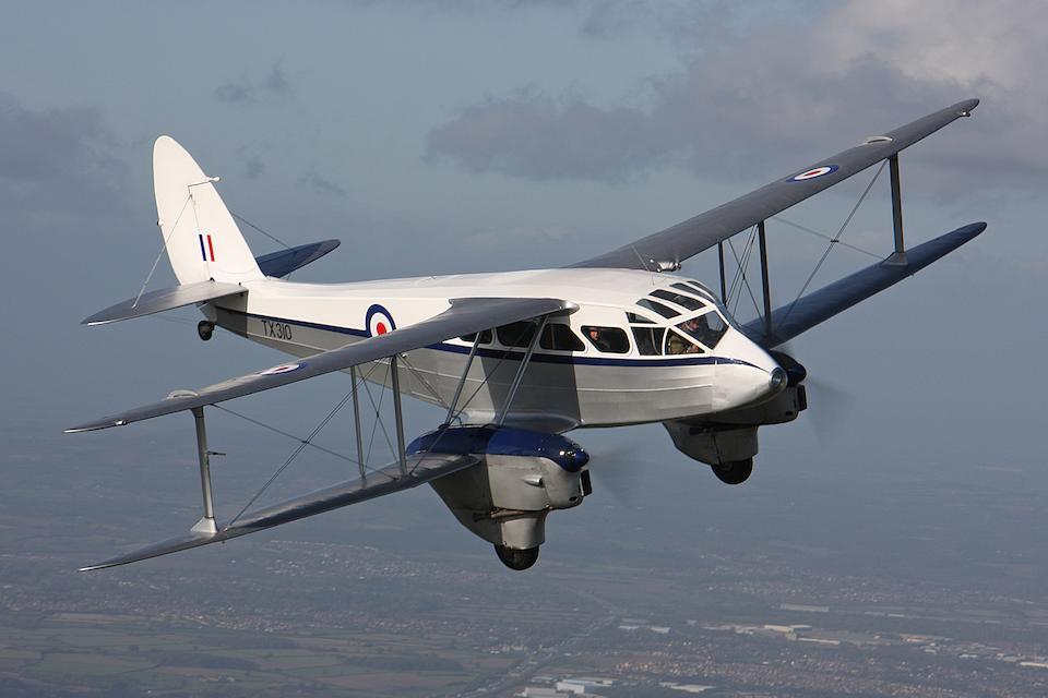 1946 de Havilland Rapide Short-haul Airliner