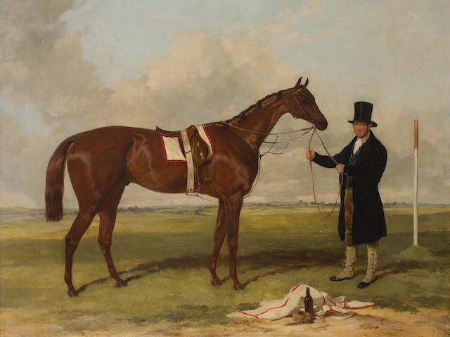 Harry Hall (British, 1813-1882) Cossack, winner of the Derby, 1847