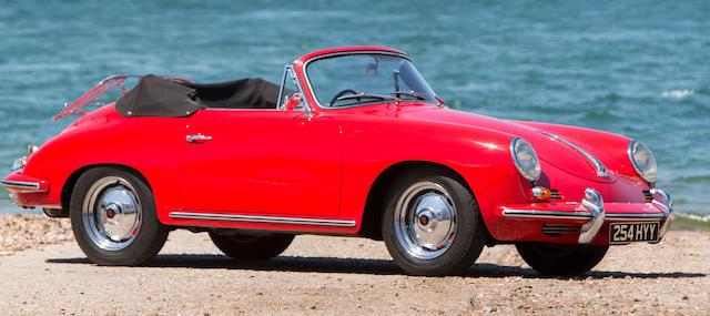1961 Porsche 356B Super 90 Cabriolet  Chassis no. 155501 Engine no. P803125