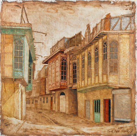 Lorna Selim (Iraq, born 1928) Baghdad Alley