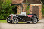 Owned from new by Sir Douglas Bader,1938 MG Midget TA Roadster  Chassis no. TA 1753 Engine no. MPJG 2010
