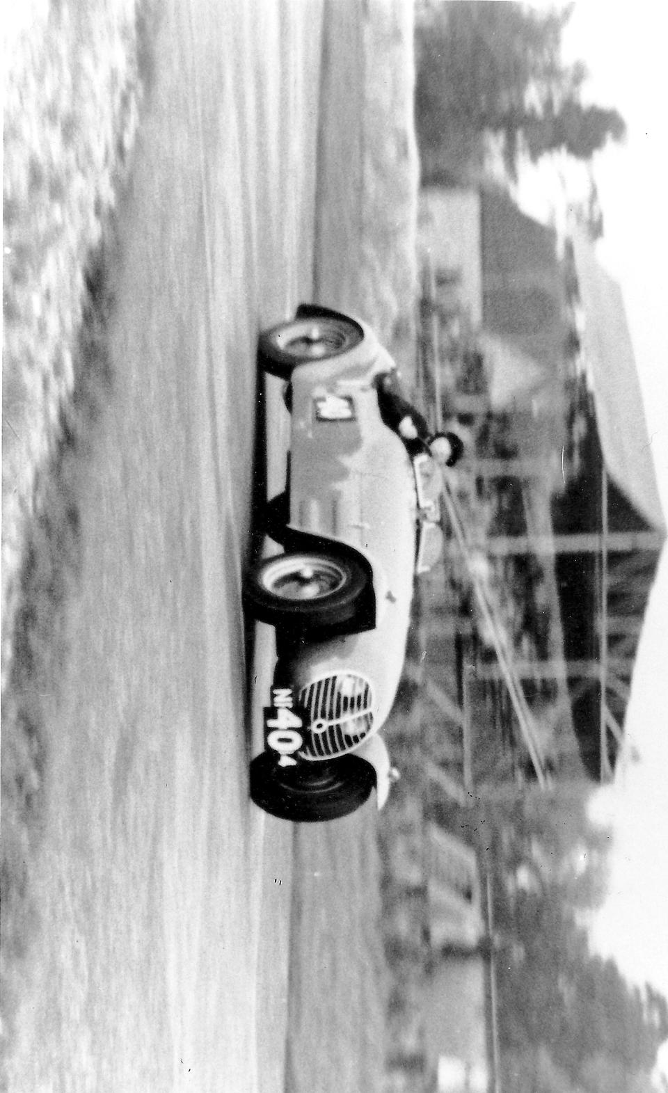1949 HRG 'Maserati'  Sports Two-Seater  Chassis no. 49/1 Engine no. BH8538-8