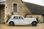 1933 Bentley 3½-Litre Sports Saloon  Chassis no. B15AE Engine no. Z8BA