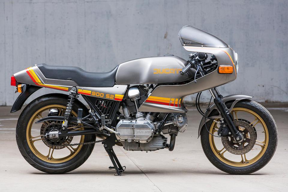 Ducati 864 cm3 900 S2 1983  Frame no. DM860SS 092409 Engine no. 907041 DM860