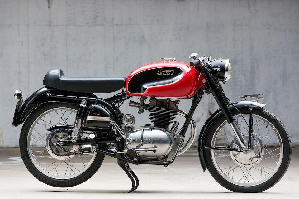 Parilla 175 cm3 Speciale 1956  Frame no. 400972 Engine no. 400972