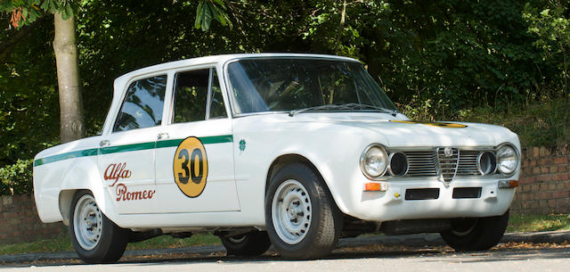 1964 Alfa Romeo Giulia TI Super Competition Saloon  Chassis no. AR 595469 Engine no. AR00516.00266 and 18 (Autodelta)