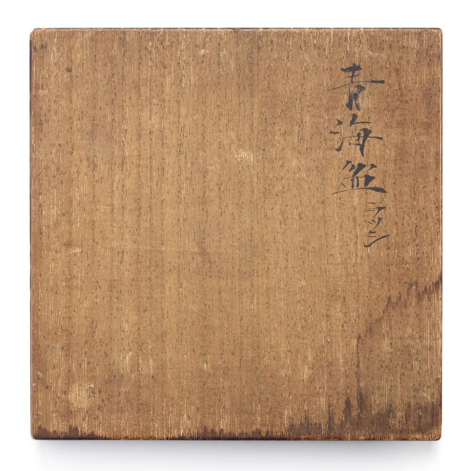 Shibata Zeshin 柴田是真 (1807–1891)  SWEET DISH IMITATING PEWTER  砂張盆写菓子器 Edo period (1615–1868), circa 1855