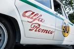 1964 Alfa Romeo Giulia TI Super Competition Saloon  Chassis no. AR 595469 Engine no. AR00516.00266 and 18 (Autodelta)