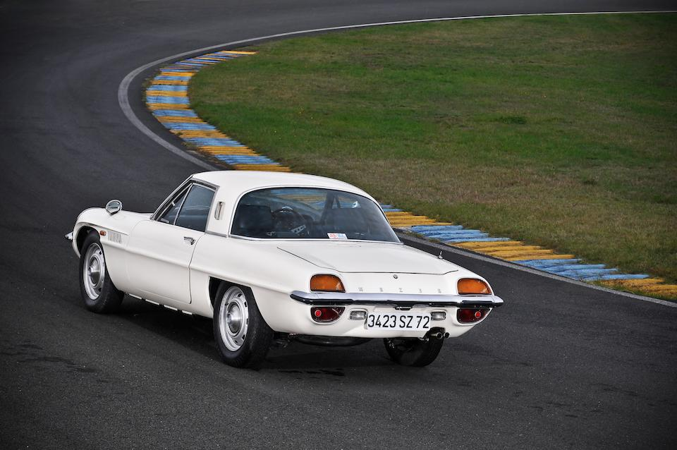 One of three delivered new to France,1970 Mazda Cosmo Sport 110S Coupé  Chassis no. L10B-10769 Engine no. 10A-1865