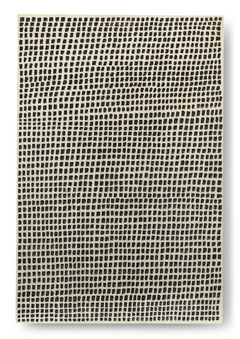 Jan Schoonhoven (Dutch, 1914-1994) Peinture Zero 2 1968