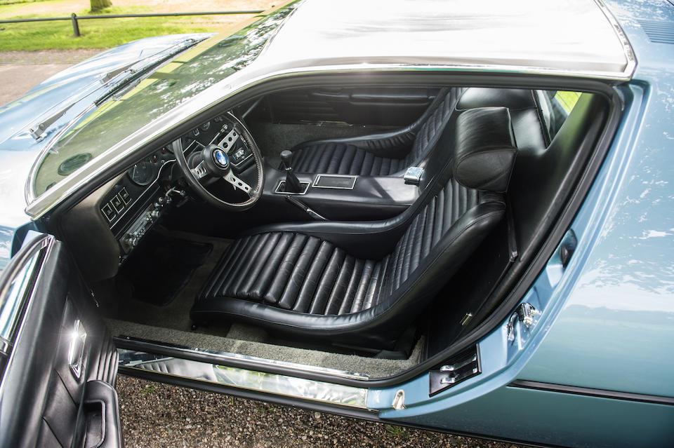 1973 Maserati Bora 4700 Coupé  Chassis no. AM 117 422 Engine no. AM 107 07 47 422