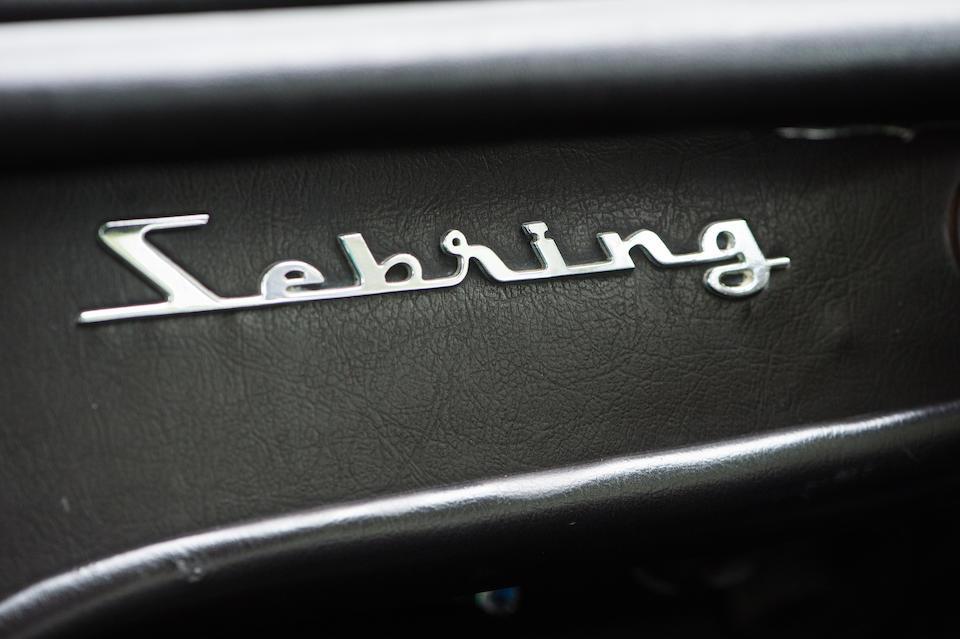 1966 Maserati Sebring 3.7-Litre Coupé  Chassis no. AM 101 10 275 Engine no. AM 101 10 275