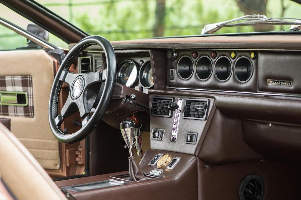1982 Maserati Merak 2000  Chassis no. AM122/D3384 Engine no. AM122D3384