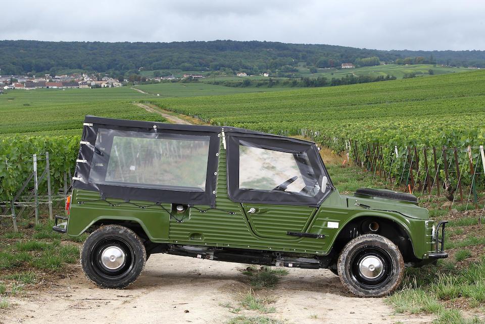 1980 Citroën  Méhari 4x4  Chassis no. 00CE0519
