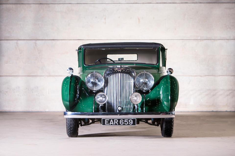 The ex-Alan Good,1938 Lagonda V12 Drophead Coupé  Chassis no. 14036 Engine no. 14026