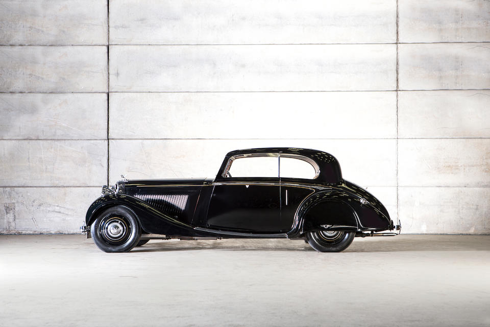 c.1938 Bentley 4¼-Litre 'High Vision' Coupé  Chassis no. B83LE Engine no. J5BE
