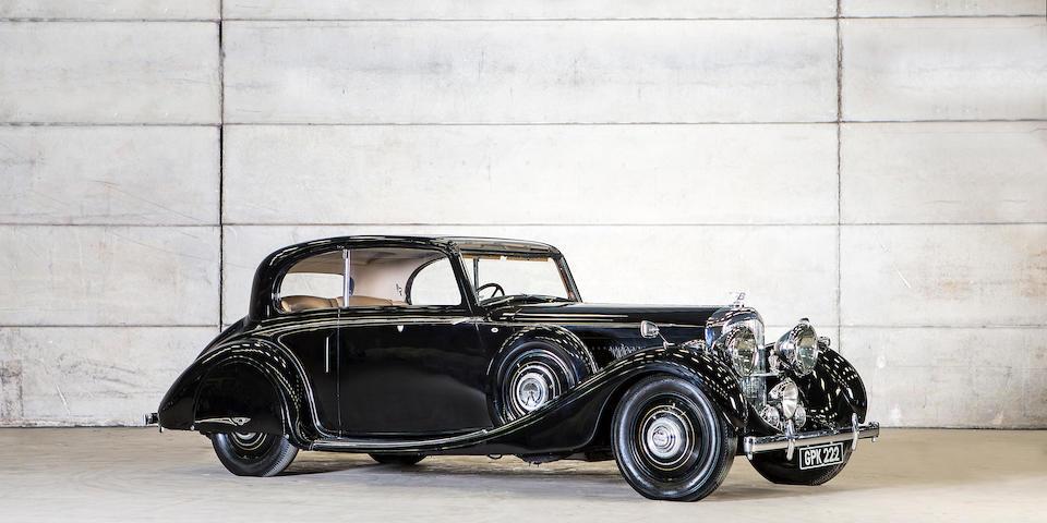 c.1938 Bentley 4¼-Litre 'High Vision' Coupé  Chassis no. B83LE Engine no. J5BE