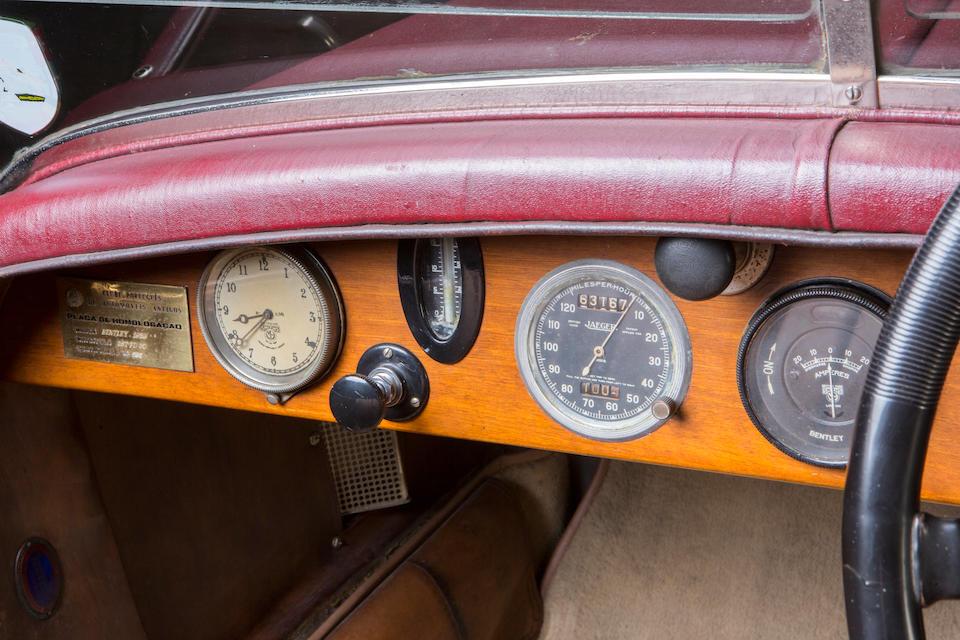 1929 Bentley 4½-Litre Tourer