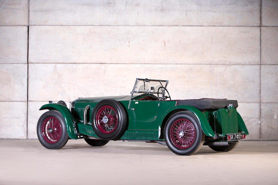 1934 Invicta 4½-Litre S-Type Low-chassis Tourer