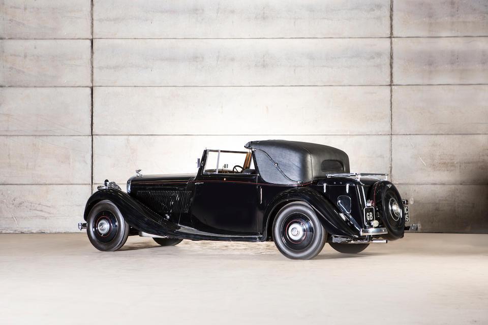 1936 Bentley 4¼-Litre 'Owen' Sedanca Coupé  Chassis no. B171HM Engine no. N9BW