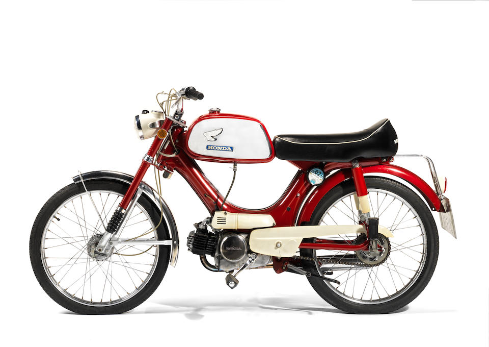 Property of James May,1970 Honda PS50 Sports Moped Frame no. PC50-A29241 Engine no. PC50EA-A78455