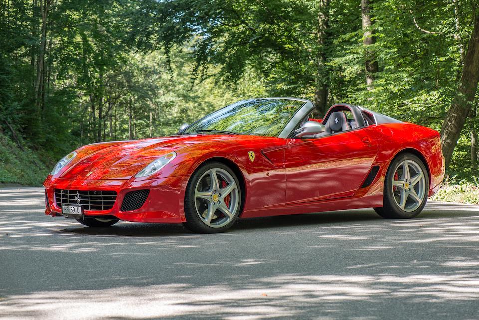 2011 Ferrari 599 SA Aperta  Chassis no. ZFF72RDJ000182506 Engine no. 17671