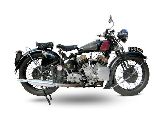1939 Zenith-JAP 1,096cc CP Model Frame no. 13155 Engine no. LTZ/Z32645/SD