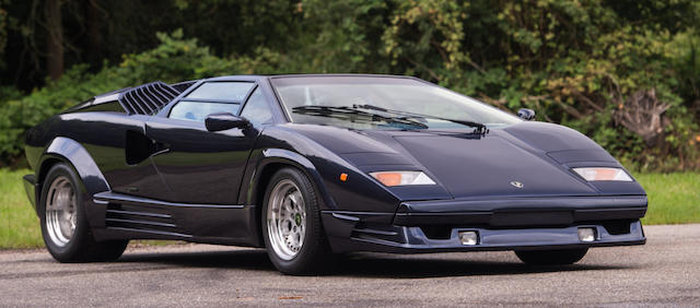 Bonhams Belgian Delivery From New 1989 Lamborghini Countach 25th