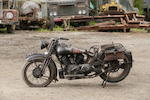 1934 Brough Superior 1,096cc 11-50hp Project Frame no. 8/1427 Engine no. LDZ/D 40539/SE
