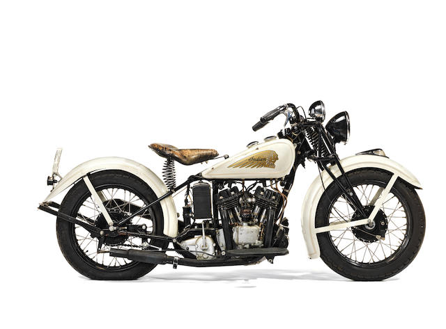 The Ex-Steve McQueen,1934 Indian 750cc Sport Scout Frame no. 541454 Engine no. HD0279
