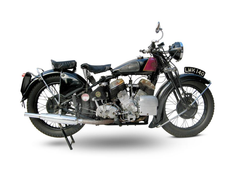 1939 Zenith-JAP 1,096cc CP Model Frame no. 13155 Engine no. LTZ/Z32645/SD