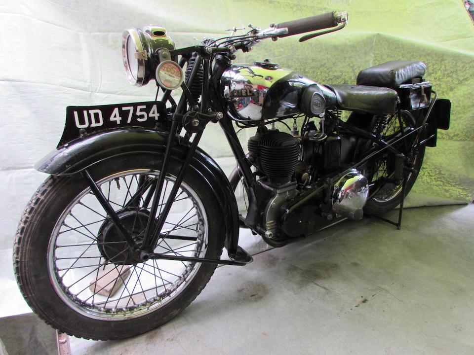 1931 Ariel 557cc Model A Frame no. 991 Engine no. 1930