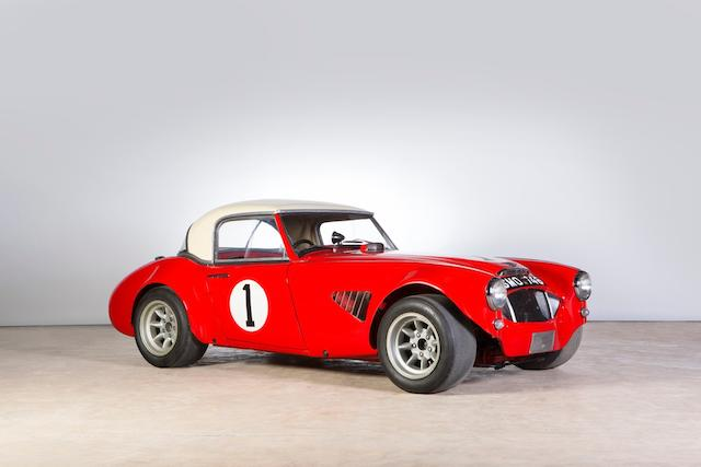 'SMO 746' - The ex-Works Competitions Department, John Gott,1959 Austin-Healey 3000 MKI Works Rally/Modsports Coupe