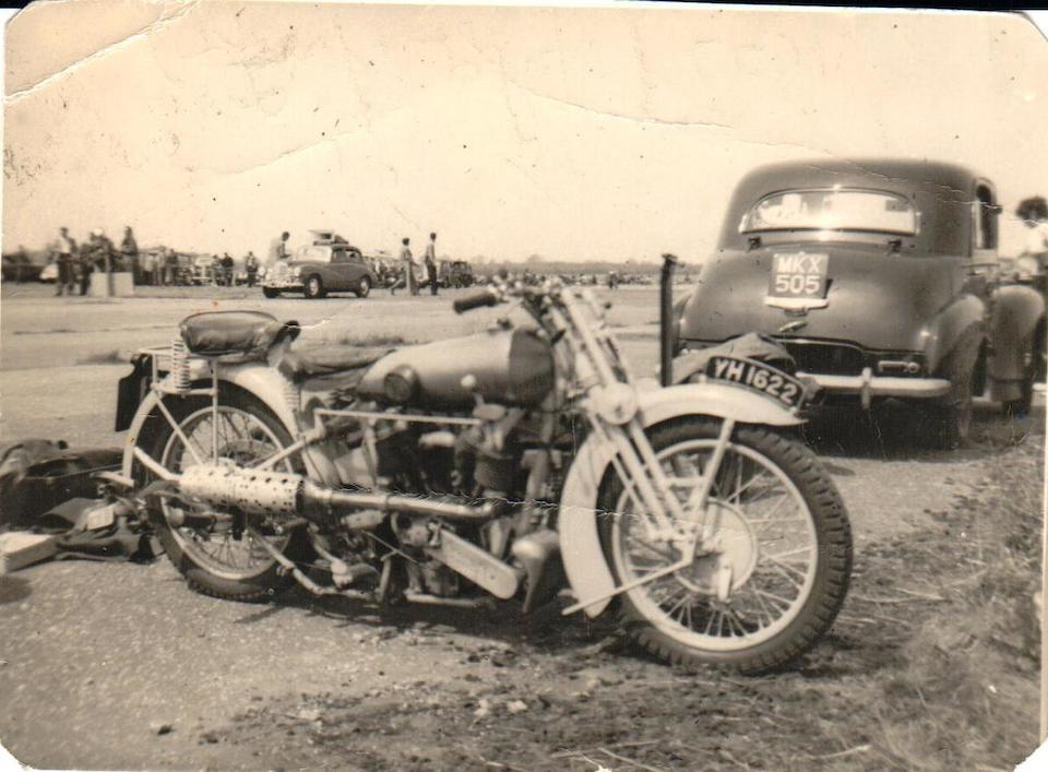 1927 Brough Superior 981cc SS100 Alpine Grand Sport Project Frame no. 922 Engine no. KTOR/I 68248