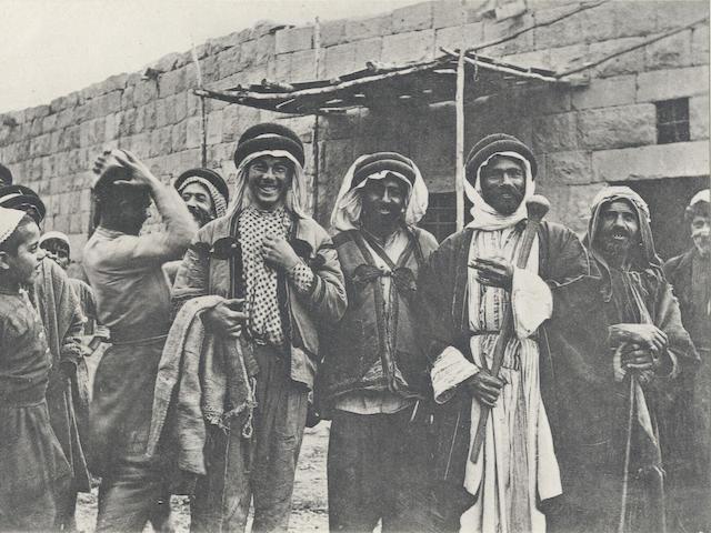 MORITZ (BERNHARD) Bilder aus Palästina, Nord-Arabien und dem Sinai, Berlin, Dietrich Riemer, 1916
