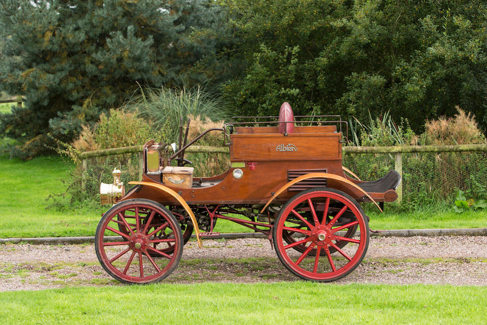 1901 Albion 8hp A1 Dogcart  Chassis no. CCC 195