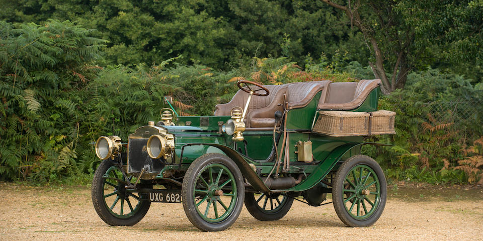 1904 Columbia Mark XLIII Two-Cylinder Rear Entrance Tonneau  Chassis no. 4220