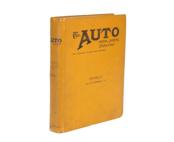The Auto Motor Journal; Volume 15 (July-December 1910,
