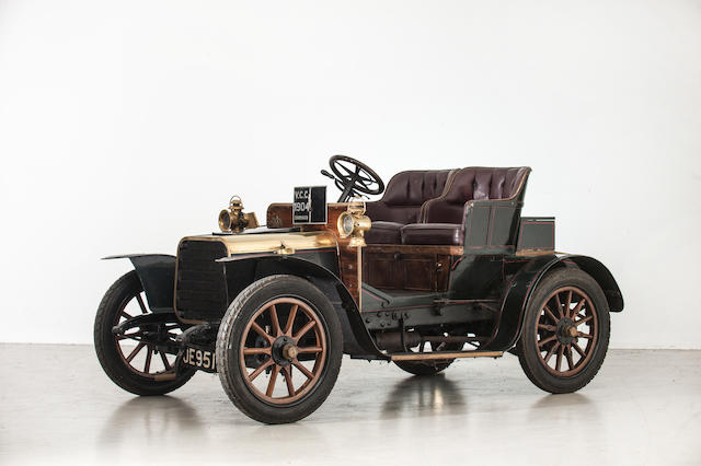 1904 Darracq 8hp Two Seater  Chassis no. 6363 Engine no. 8818