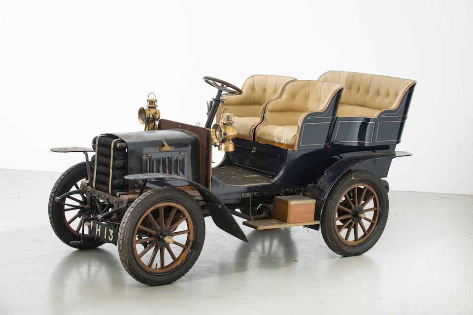 c.1904 MMC 8hp Rear-Entrance Tonneau  Chassis no. 1154 (see text) Engine no. 3390