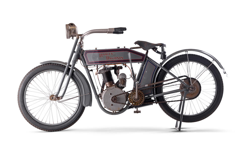 1913 Harley-Davidson Model 9B '5-35' Single Frame no. 1914D Engine no. 1914D