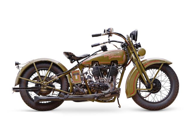 Bonhams : 1928 Harley-Davidson 1,200cc Model JD Frame no. 28JD ...