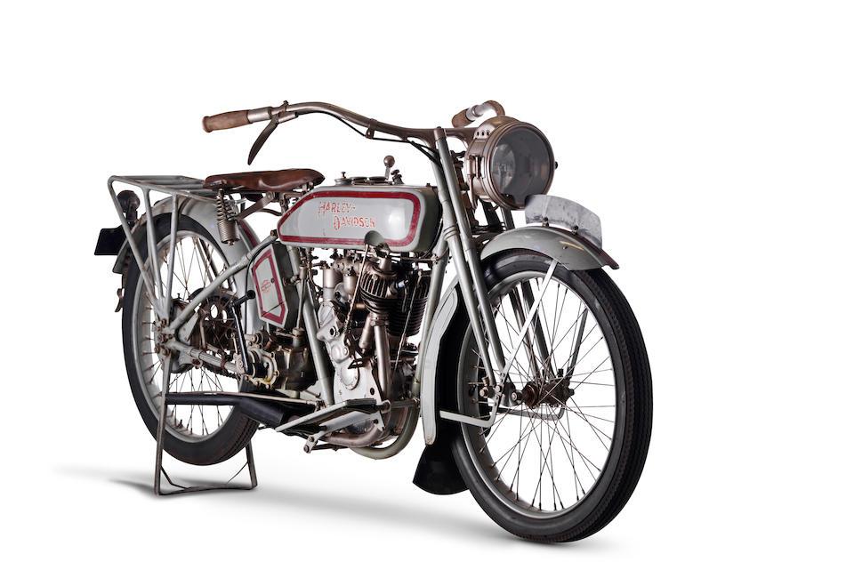 1916 Harley-Davidson Model 16C '5-35' Single Frame no. 1902 Engine no. 1370L