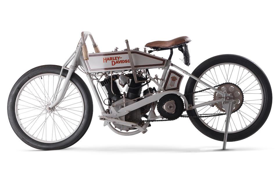 c.1918 Harley-Davidson 'Board Track' Racing Motorcycle Engine no. 18T 9749